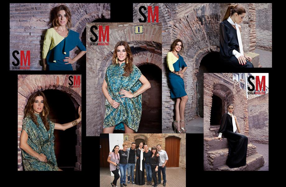 Raquel-Sanchez-Silva, Sevilla Magazine - Carmen Olmedo Estilismo y Peluquería