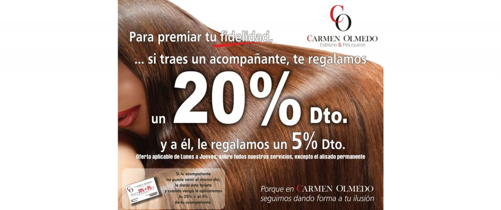 Carmen Olmedo descuento 20%