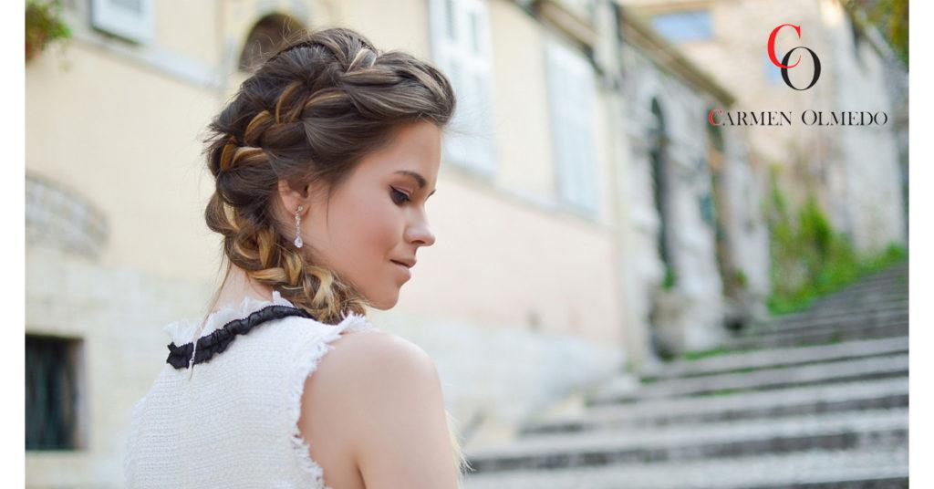 Peinados para la época de celebraciones